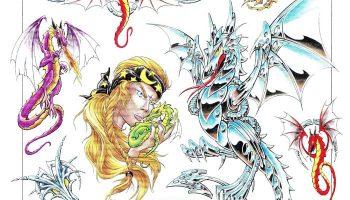 Tattoo design 54