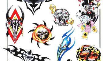 Tattoo design 64