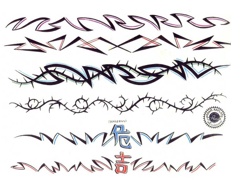 arm band tattoos