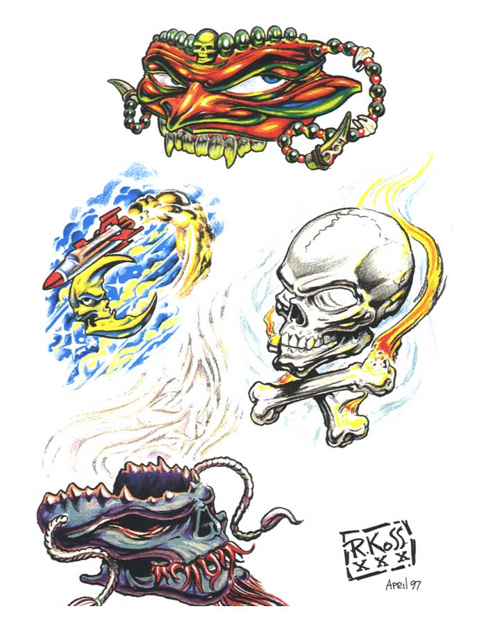 tattoo flash 252