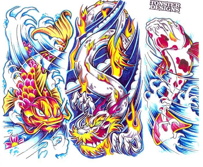 Tattoo flash. Sheet 259