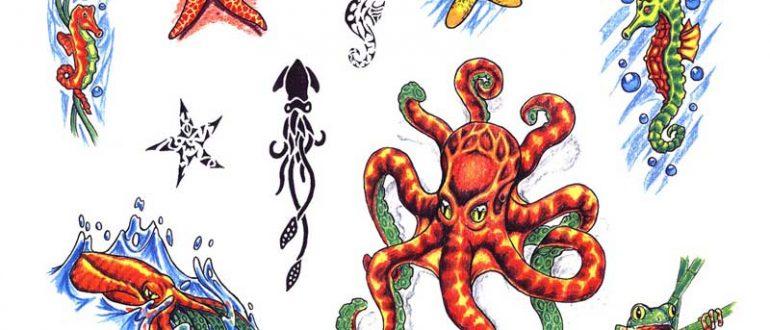 Tattoo flash. Sheet 260