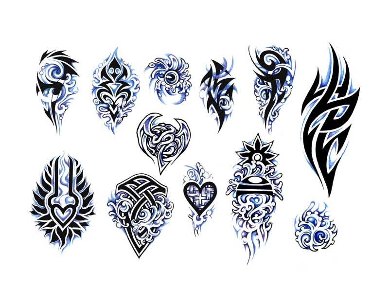 """Tattoo flash. """"The Must Have Collection"""". Sheet 273"""